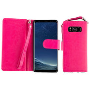 Detachable Wallet Hot Pink S8 Plus
