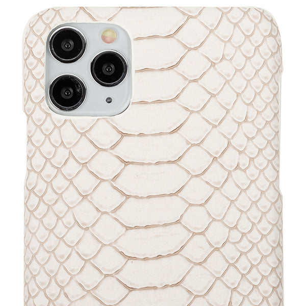 Python Style White Case iphone 11 Pro Max