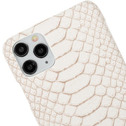 Python Faux White Case Iphone 11 Pro