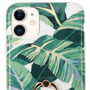 Green Leaves Ring Case Iphone 11