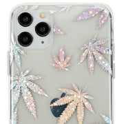 Weed Leaf Silver Case Iphone 11 Pro Max