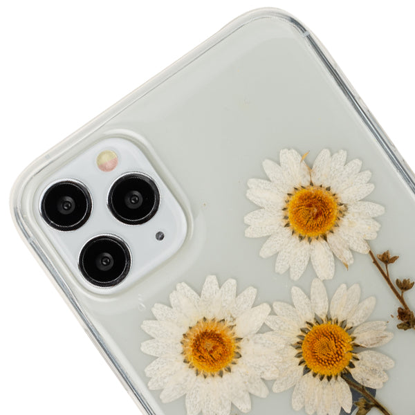 Real Flowers White 3 Case iphone 11 Pro