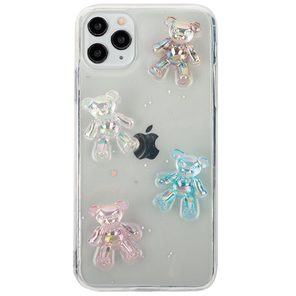 Crystal Teddy Bear Case IPhone 12 Pro Max