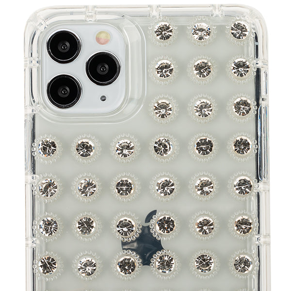 Studded Bling Clear Skin Iphone 11 Pro