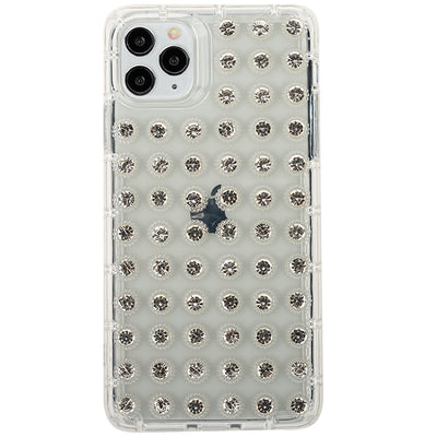 Studded Bling Clear Skin  IPhone 12/12 Pro