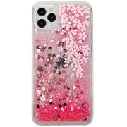 Orchid Flowers Liquid Case Iphone 11 Pro