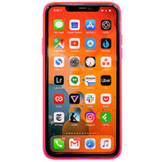 Neon Clear Hot Pink Iphone 11 Pro