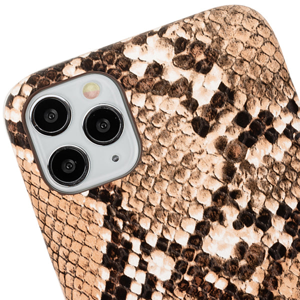 Snake Style Brown Case Iphone 11 Pro