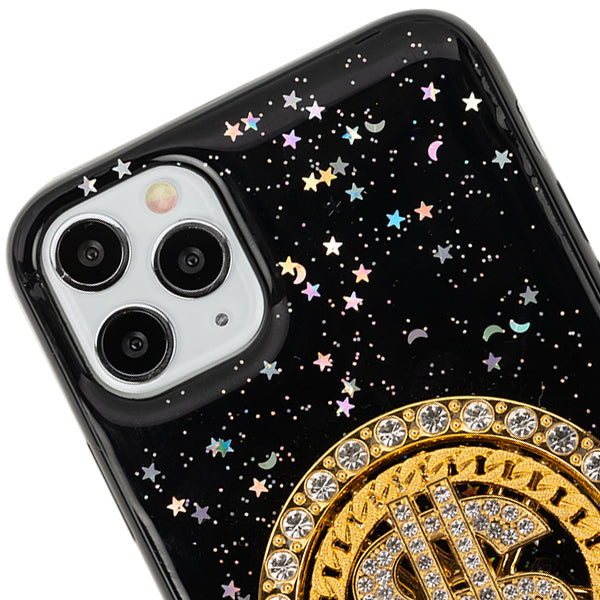 Spinning $ Black Case Iphone 11 Pro