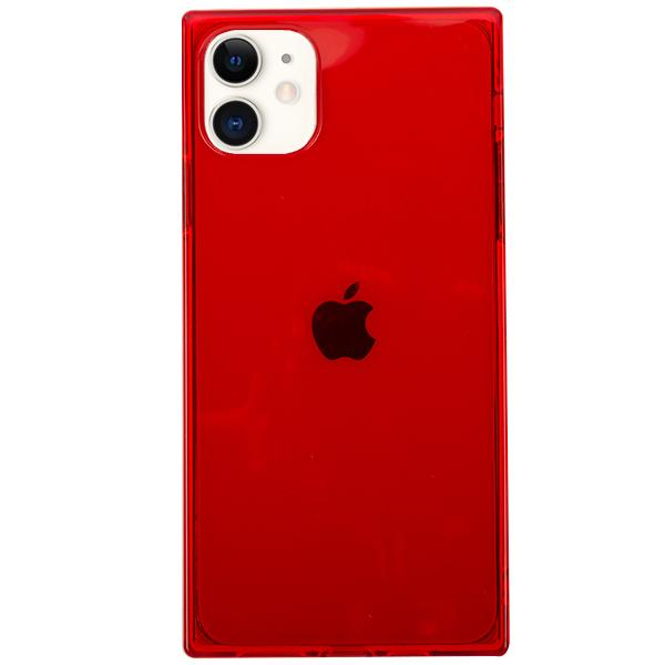 Square Box Red Skin Iphone 11