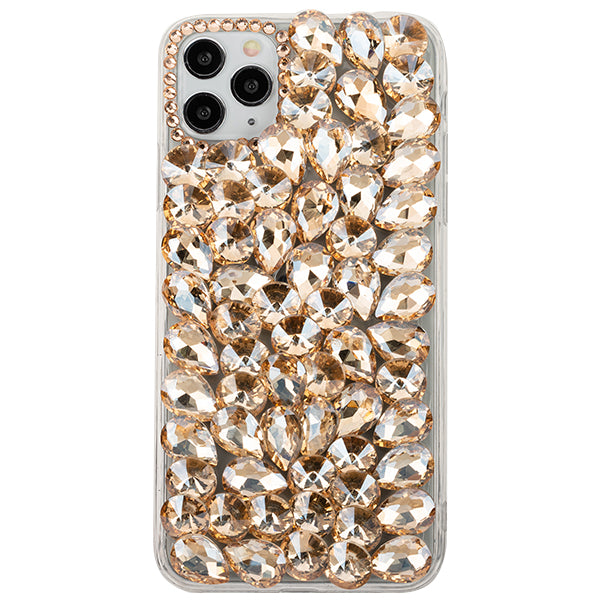 Handmade Bling Gold Case IPhone 12/12 Pro