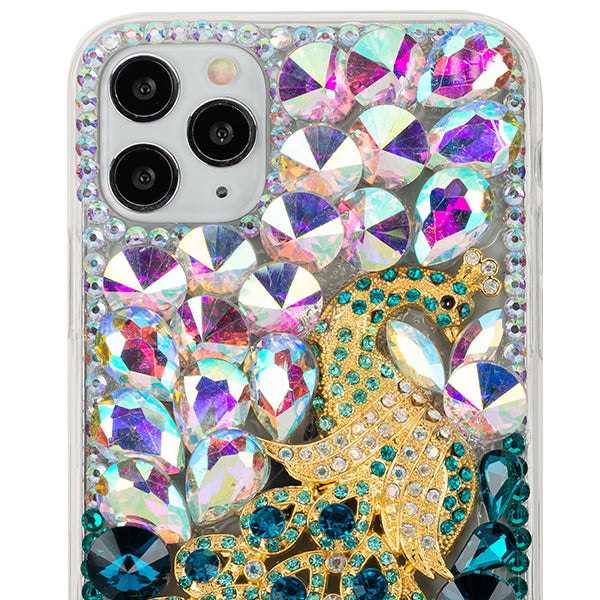 Handmade Peacock Bling Case Iphone 11 Pro