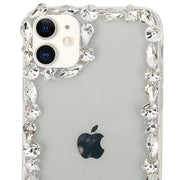 Silver Edge Bling Case Iphone 11
