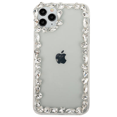 Silver Edge Bling Case IPhone 12/12 Pro