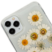 Real Flowers Yellow Flake Case Iphone 11 Pro