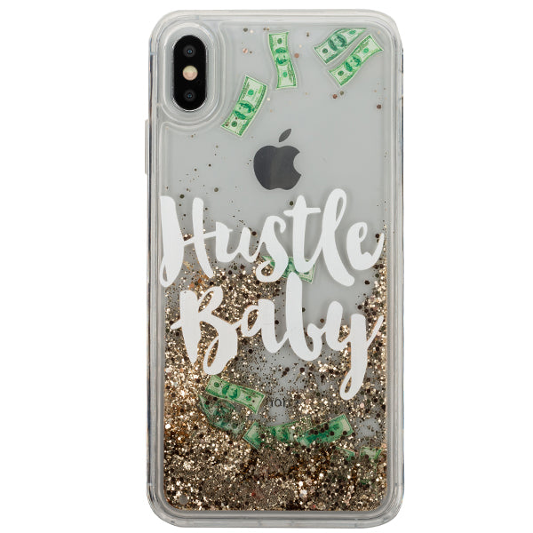 Hustle Baby Liquid Dollars Case Iphone 10