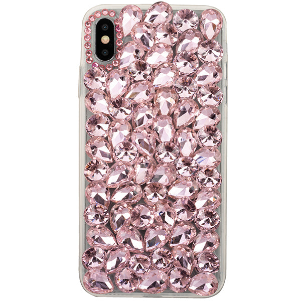 Handmade Bling Pink Case Iphone 10