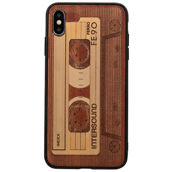 Real Wood Cassette Iphone 10/XS/X