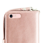 Bling Detachable Fox Rose Gold Wallet Case Iphone 7/8