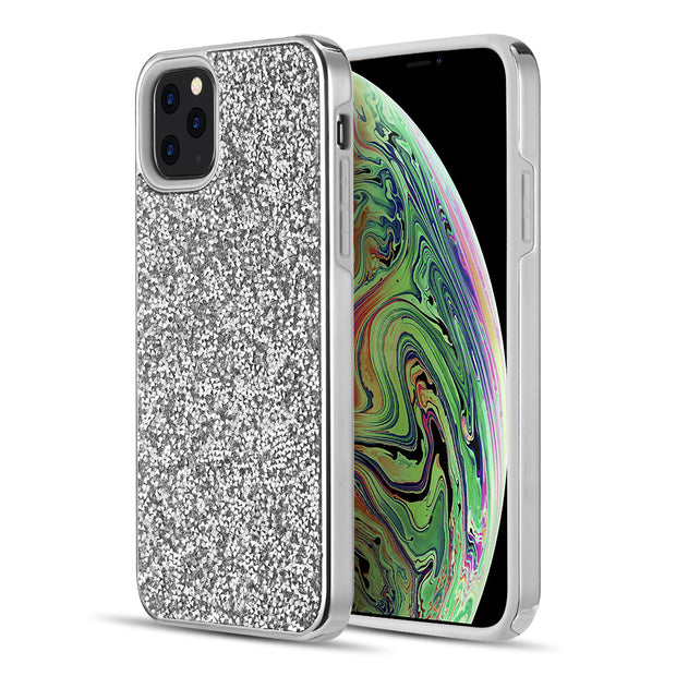 Hybrid Bling Silver IPhone 11 Pro Max - Bling Cases.com