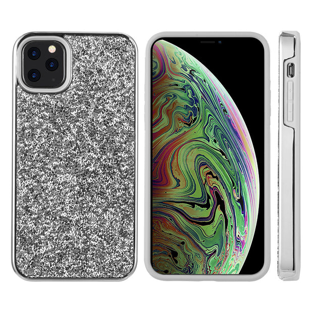 Hybrid Bling Silver IPhone 11 Pro - Bling Cases.com
