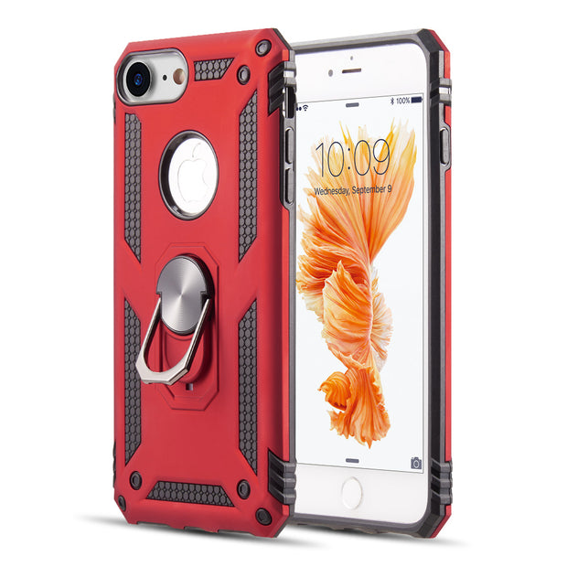 Hybrid Ring Red Case Iphone 6/7/8 - Bling Cases.com