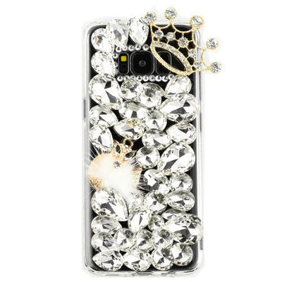 Handmade Bling Fox Stones Samsung S8 - Bling Cases.com