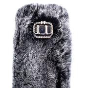 Fur Grey Case Samsung S8 - Bling Cases.com