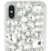 Handmade Silver Bling Case Iphone 10/X/XS - Bling Cases.com