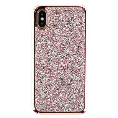Hybrid Bling Pink Case Iphone 10/X/XS - Bling Cases.com