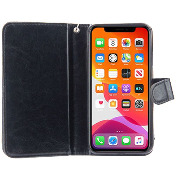 Handmade Detachable Bling Black Wallet Iphone 11 Pro