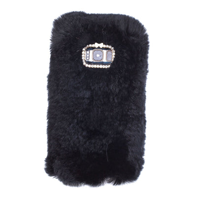 Fur Black Case Samsung S8 - Bling Cases.com
