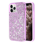 Hybrid Bling Purple IPhone 11 Pro Max - Bling Cases.com