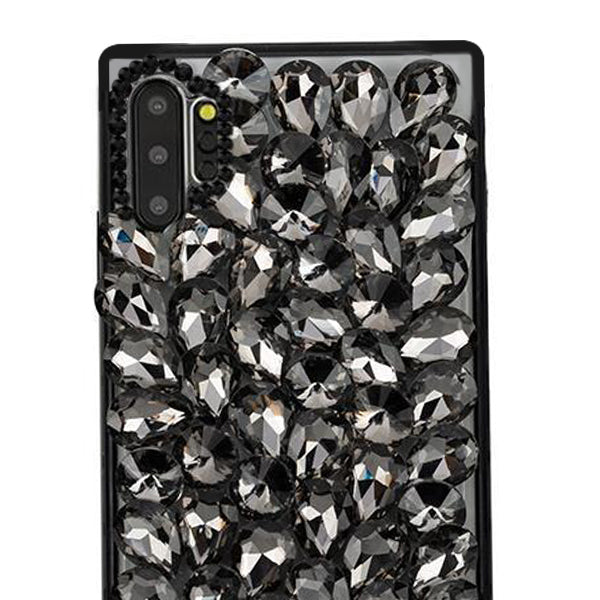 Handmade Bling Black Case Samsung Note 10 Plus