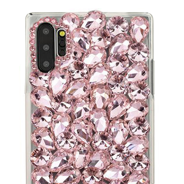 Handmade Bling Pink Case Samsung Note 10 Plus