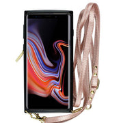 Crossbody Pouch Rose Gold Case Samsung Note 9