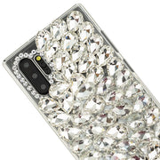 Handmade Silver Bling Case Samsung Note 10 Plus