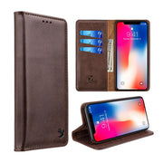 Detachable Wallet Brown Iphone XR - Bling Cases.com