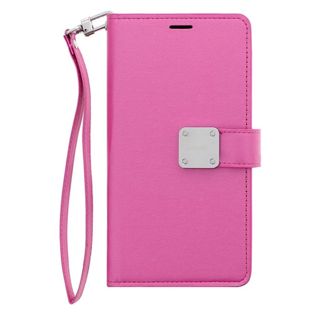 Wallet Hot Pink J3 2018 - Bling Cases.com