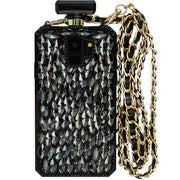 Handmade Bling Black Bottle Case S9