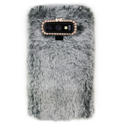 Fur Grey Case Samsung Note 9