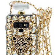Handmade Cheetah Gold Bling Bottle Note 9