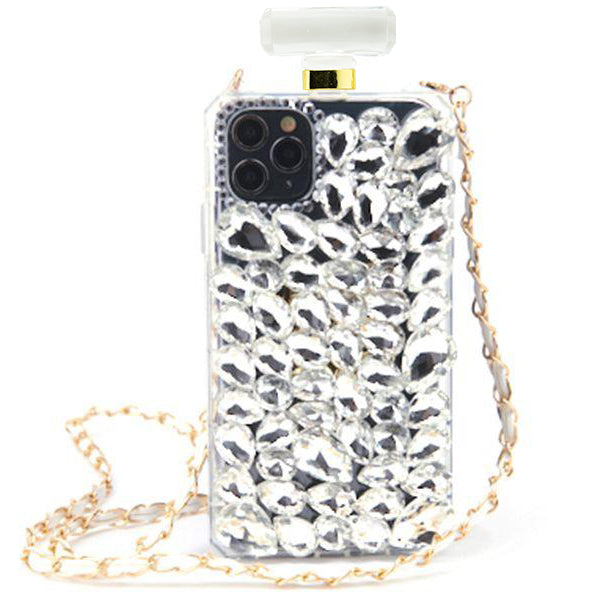 Handmade Bottle Bling Silver Case Iphone 11 Pro