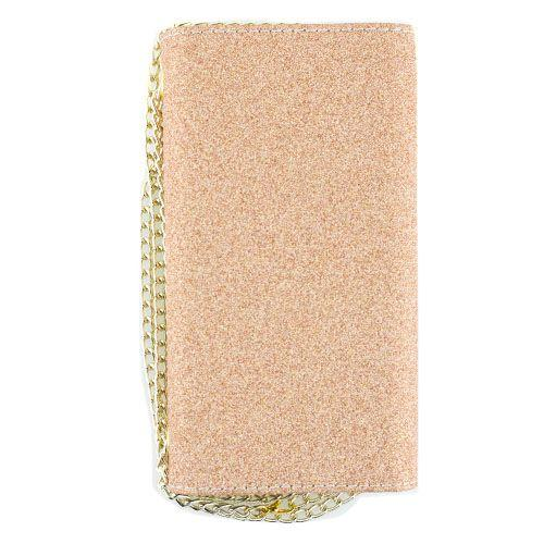 Glitter Detachable Purse Rose Gold Iphone 10/X/XS