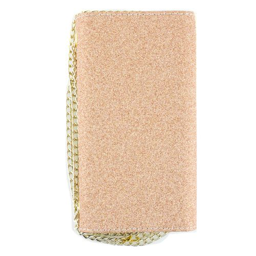 Glitter Detachable Purse Rose Gold Samsung S8 - Bling Cases.com
