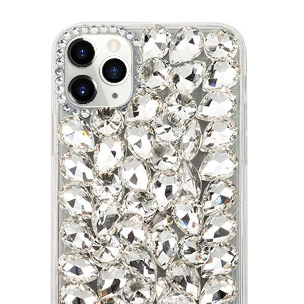 Handmade Bling Silver Case Iphone 11 Pro