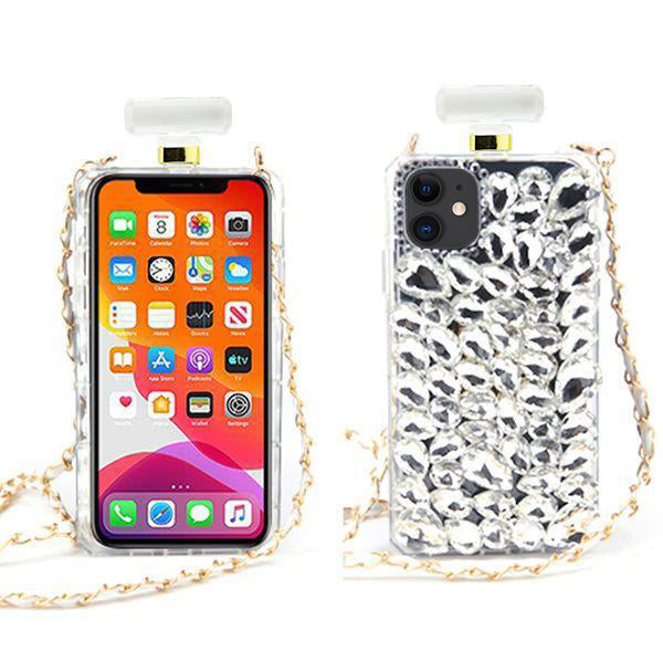 Handmade Bling Fox Bottle Case Iphone 11