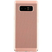 Super Thin Rubberized Rose Gold Case Note 8