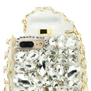 Handmade Silver Bling Bottle Iphone  7/8 Plus - Bling Cases.com