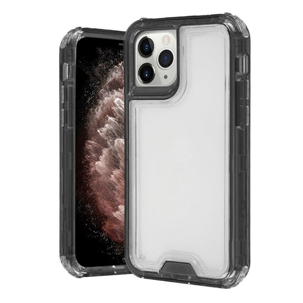 Hybrid Clear Smoke Iphone 11 Pro - Bling Cases.com